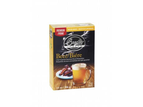 BRADLEY Flavour Bisquettes - Beer 48ks