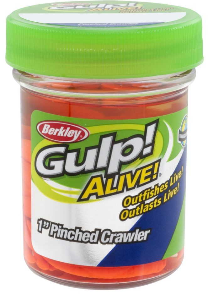BERKLEY GULP! ALIVE!® PINCHED CRAWLER 3CM CHARTREUSE