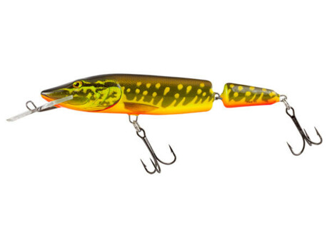 SALMO Pike Jointed Deep Runner 13cm - HOT PIKE