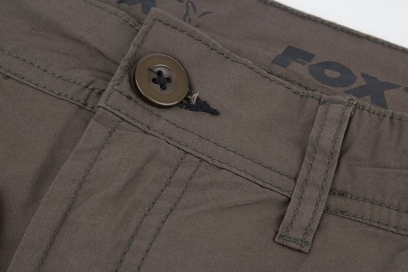 Fox Kraťasy Green black Lightweight Cargo Short VÝPRODEJ