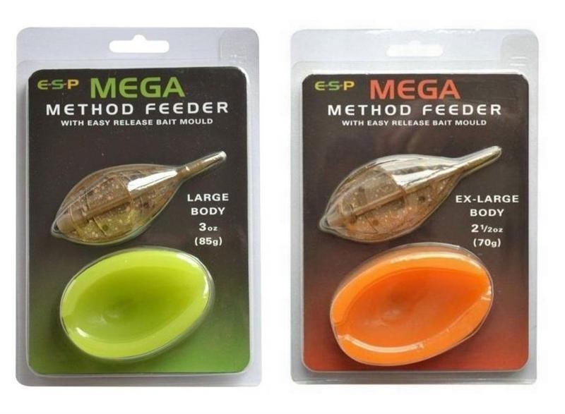 ESP Krmítko s formičkou Mega Method Feeder & Mould 56g Large