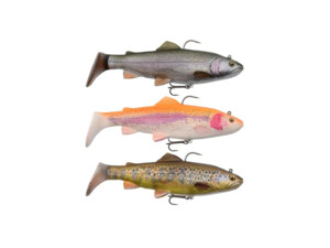 SAVAGE GEAR 4D Nástraha Trout Rattle Shad