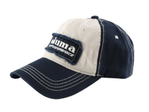 OKUMA Kšiltovka Full Back Two Tone Blue Patch Hat VÝPRODEJ