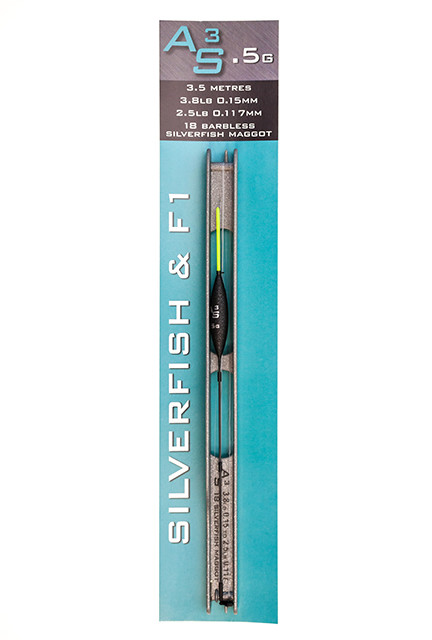 DRENNAN Navázaná udička AS3 Pole Rigs Silverfish/F1 0.5g