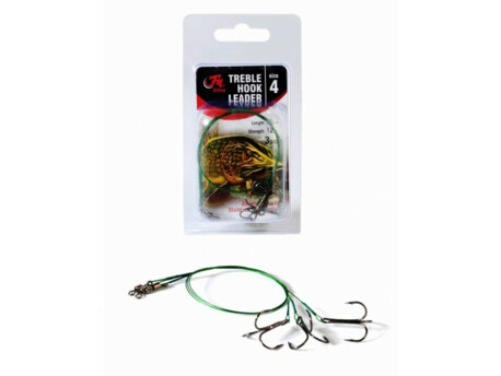 Filfishing Fil Fishing Lanko s Trojhákem Treble Hook Leader