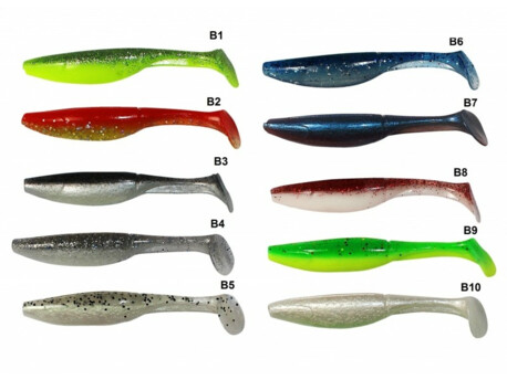 Zfish Swing Shad 10cm - 4 ks