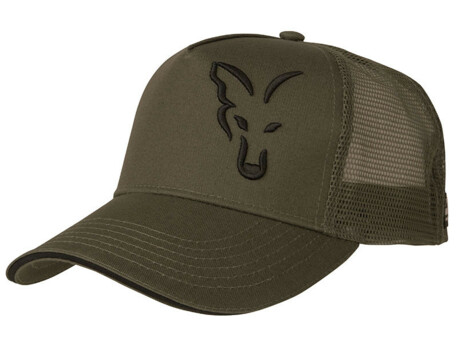 FOX Kšiltovka Green & Black Trucker Cap