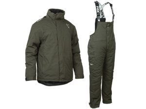 FOX Komplet GREEN & SILVER Winter Suit