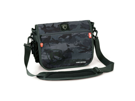 FOX RAGE Taška Camo Messenger Bag + 2 boxy