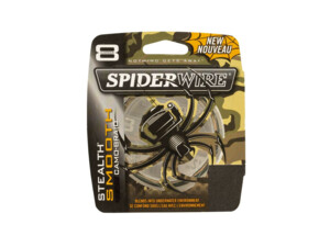Šňůra Spiderwire Stealth Smooth 8 Camo 150m VÝPRODEJ