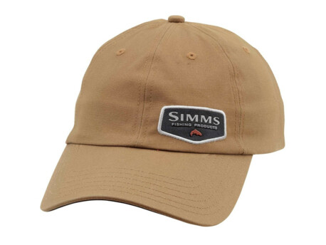SIMMS Kšiltovka Oil Cloth Cap Honey Brown