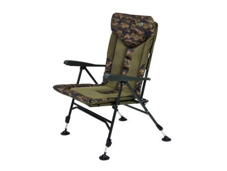 Křeslo Starfishing Repus Recliner XL Camo