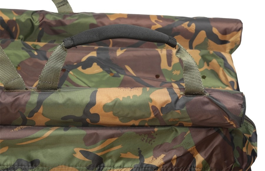 GIANTS FISHING Vážící sak plovoucí Weigh Sling Floating Luxury Camo XL + Váha s metrem