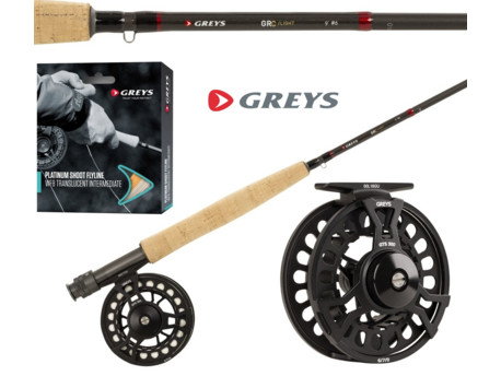 Greys Muškařský set GRC Light Fly Combo 2,70m WF6