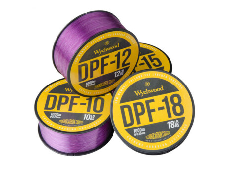 WYCHWOOD Vlasec Deep Purple Fluoro Coated Mono