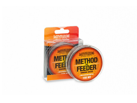 MIVARDI Method & Feeder Sinking Braid    150m     0,10mm