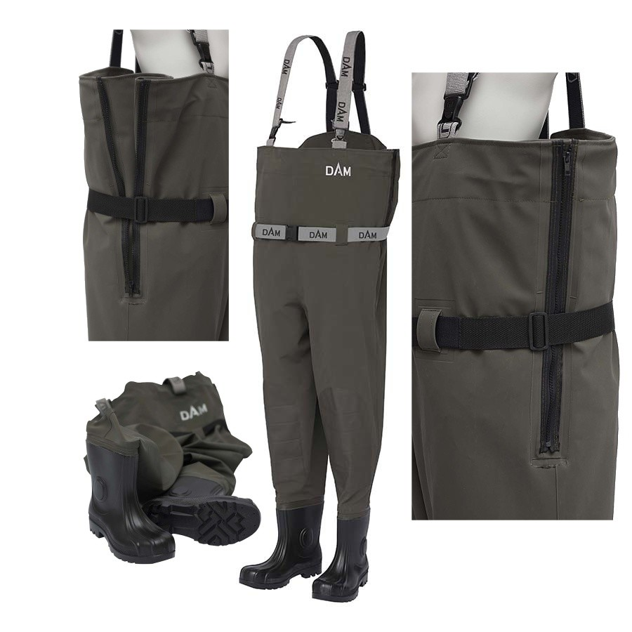 DAM Prsačky FLEXFIT CHEST WADER