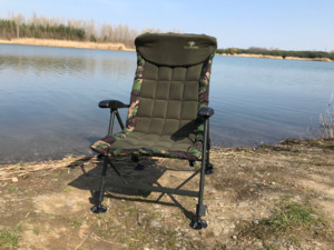 GIANTS FISHING Sedačka Komfy 2in1 Camo Chair
