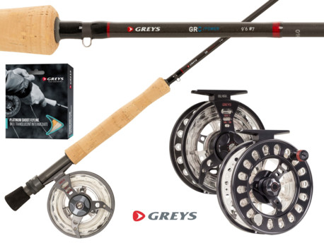 Greys Muškařský set GRC Power Fly Combo 2,90m WF7