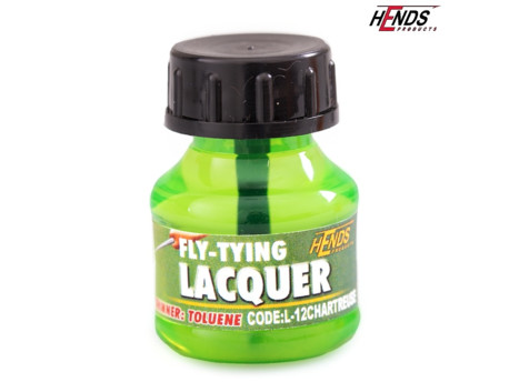 HENDS Lak FLY TYING LACQUER - CHARTREUSE