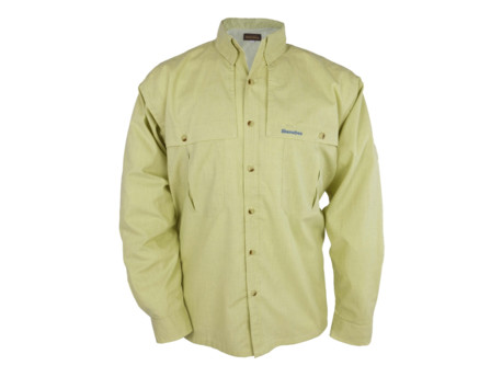 SNOWBEE Košile Lime Fishing Shirt ( Long Sleeve)-XXL