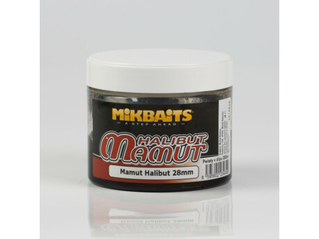 Mamut&Halibut pelety v dipu 300ml - Mamut Halibut 28mm