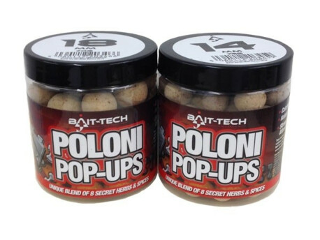 BAIT-TECH Boilies Poloni Pop-Ups 18mm, 70g VÝPRODEJ