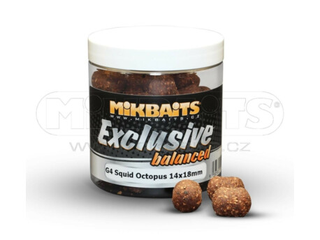 MIKBAITS Exclusive balance Gangster G4 Squid Octopus 14x18mm VÝPRODEJ