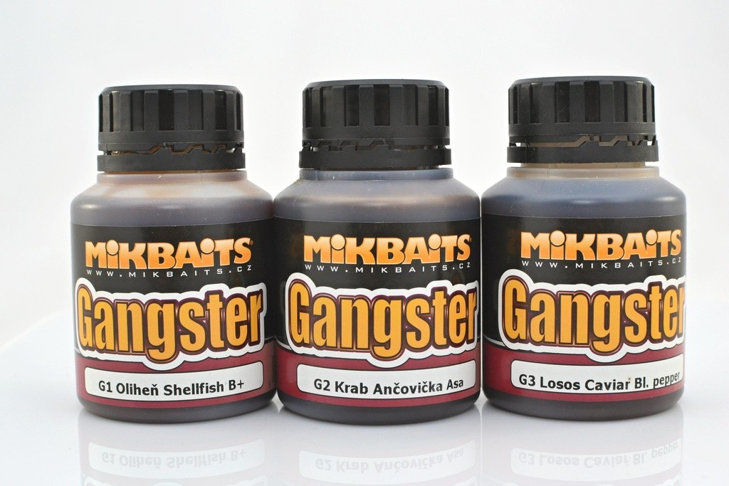 MIKBAITS Gangster Dip 125ml  G4 Squid Octopus VÝPRODEJ