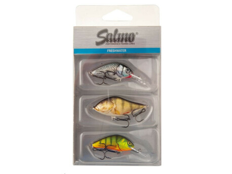 SALMO Wobler Perch Pack 3ks