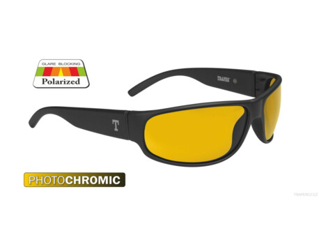 TRAPER POLARIZAČNÍ BRÝLE PHOTOCHROMIC-OREGON BLACK - YELLOW