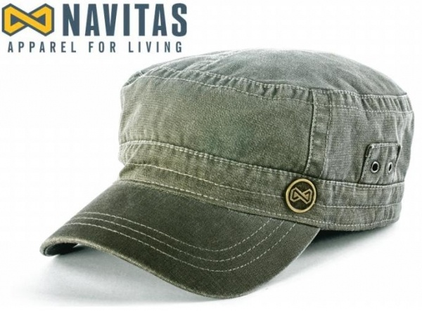 NAVITAS Kšiltovka Military Cap green 🎣 Na Soutoku df4fe19bad